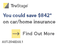 You could save an average of $519.52* on car/home insurance.  Find out more.