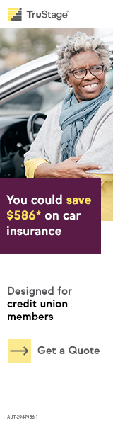 You could save up to $519.52 on car insurance.  Exclusively for credit union members.  Get a quote.