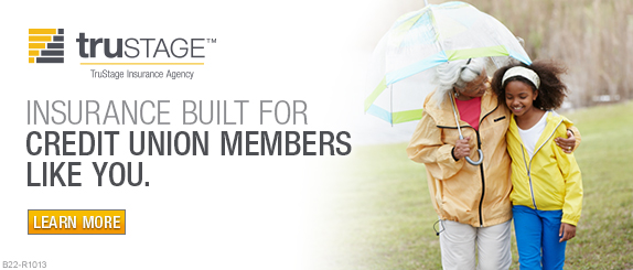 Insurance built for credit union members like you. Learn more.