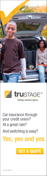 Trustage Insurance Agency. Car insurance through your credit union? At a great rate? And switching is ease? Yes, yes and yes. Get a quote.