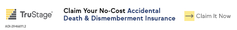 Accidents are the leading cause of death for those under 44. Claim your no cost AD&D coverage now. Members only.