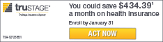 You could save $434.39 on health insurance. Enroll by January 31st. Act now.