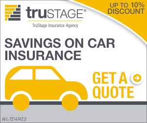 Savings on car insurance. Get a quote. TruStage Insurance Company.
