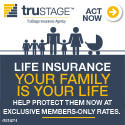 Trustage Life Insurance -  Help protect your family now at exclusive members only rates