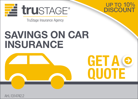 Saving on car insurance. Get a quote. TruStage Insurance Company.