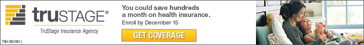 You could save hundreds a month on health insurance. Get coverage. TruStage Insurance Company.