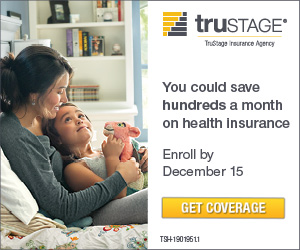 You could save hundreds on health insurance. Get coverage. TruStage Insurance Company.