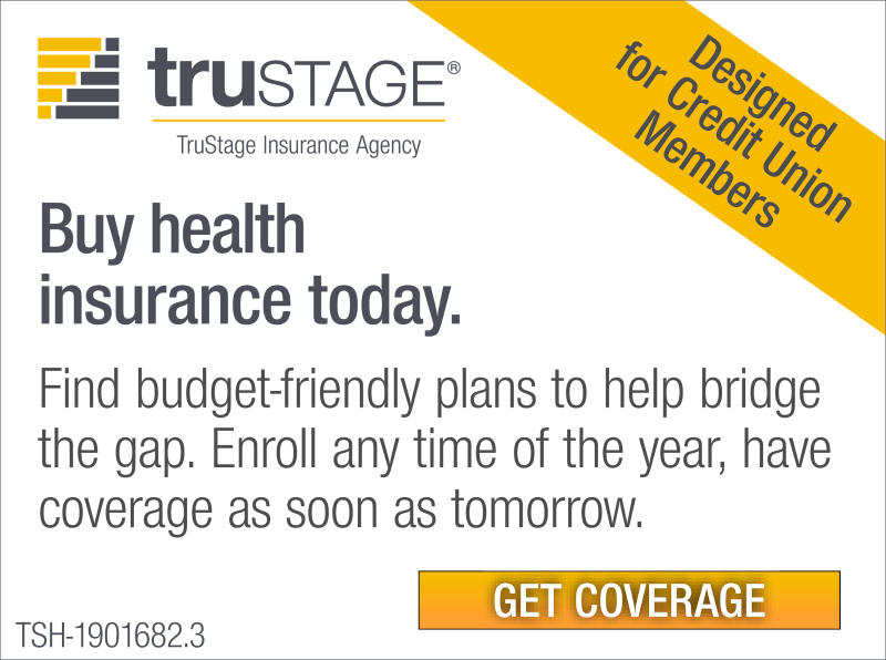 Affordable health insurance made easy. Designed for credit union members. Deadline February 15th.