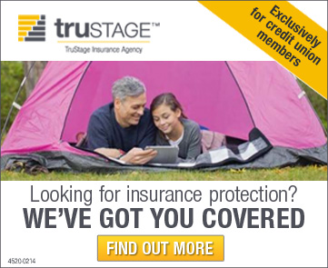 Protection for the unexpected. Exclusive life insurance rates. Act now. For credit union members only.